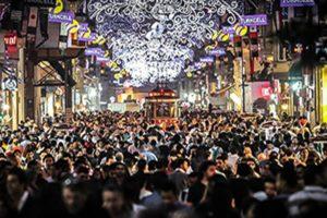 Avenida de Istiklal en Estambul