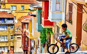 barrio de Balat en Estambul