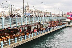 Puente de Galata en Estambul
