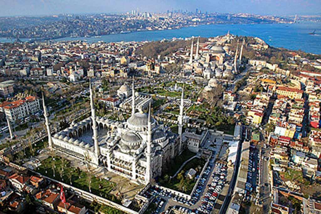 barrio de Sultanahmet en Estambul