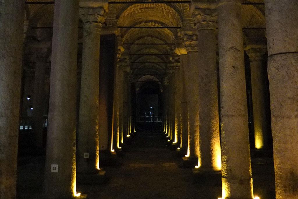 cisterna basilica en Estambul